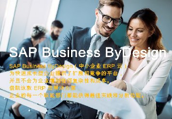 <b>SAP  Business by Design</b>